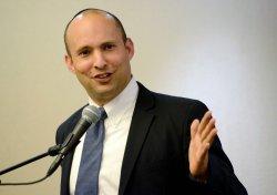 Israeli Minister Naftali Bennett Speaks In Jerusalem
