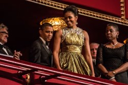 President Obama Attends Kennedy Center Honors Reception