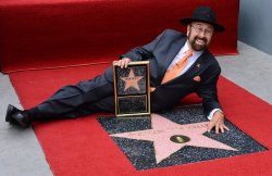 """Shotgun Tom"" Kelly receives a star on the Hollywood Walk of Fame in Los Angeles"