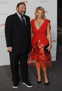 Joel Silver and Karyn Moss attend the LACMA Art + Film gala in Los Angeles