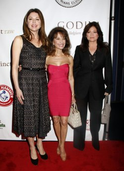 Jane Leeves, Susan Lucci and Valerie Bertinelli arrive for the Friars Club Roast of Betty White in New York