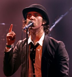 Maximo Park performs in concert in San Diego