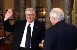 Senators sworn in to session