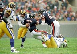 Chicago Bears vs. St. Louis Rams football