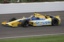 Practice day 2 for the 98th running of the Indianapolis 500 at the Indianapolis Motor Speedway
