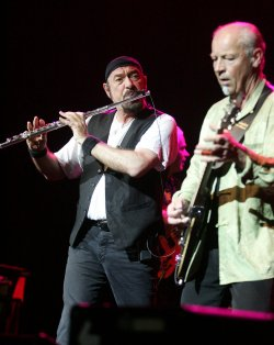 Jethro Tull performs in concert in Florida