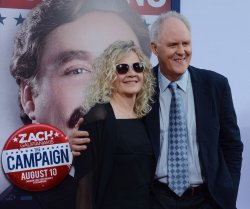 "John Lithgow and Mary Yeager attend ""The Campaign"" premiere in Los Angeles"