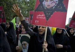 Iran's President Mahmoud Ahmadinejad attends al-Quds Day rally in Tehran