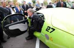 Chairman Markey tests out X Prive vehicles in Washington