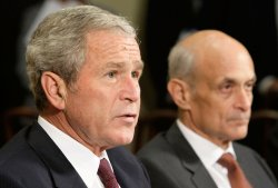 President Bush delivers remarks on Hurricane Ike Relief