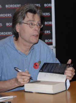 STEPHEN KING BOOK SIGNING IN LONDON