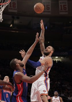 New York Knicks Tyson Chandler at Madison Square Garden in New York