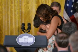 First Lady Michelle Obama speaks on Veteran Homelessnessin Washington, D.C.