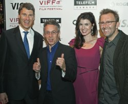 Celebrities arrive on the red Carpet at the 2010 Vancouver International Film Festival opening night gala party