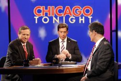 Kirk and Giannoulias prepare for forum in Chicago