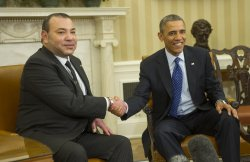 President Obama meets with King Mohammed VI of Morocco in Washington, D.C.