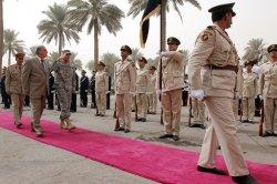 Gen. David Petraeus farewell ceremony in Baghdad