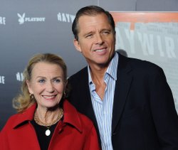 "Juliet Mills and Maxwell Caulfield attend the ""Haywire"" premiere in Los Angeles"