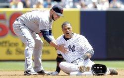Yankees vs Indians at Yankee Stadium