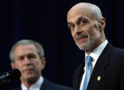 MICHAEL CHERTOFF SWORN IN AS SECOND SECRETARY OF HOMELAND SECURITY