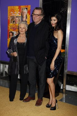 "Judi Dench, Tom Wilkinson and Tena Desae arrive for the ""Best Exotic Marigold Hotel"" Premiere in New York"