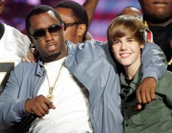 P Diddy and Justin Bieber perform at the SOS Saving Ourselves telethon