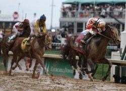 Orb wins the 139th Kentucky Derby in Louisville, Kentucky