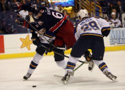 COLUMBUS BLUE JACKETS VS ST. LOUIS BLUES HOCKEY