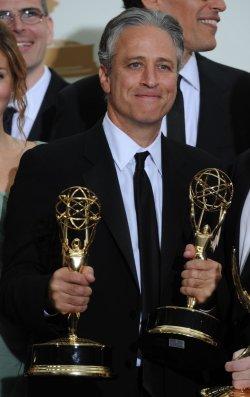 Jon Stewart wins at the Primetime Emmy Awards in Los Angeles