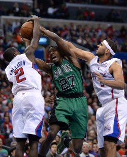 Boston Celtics Los Angeles Clippers in Los Angeles