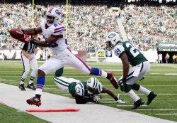 Buffalo Bills C.J. Spiller gains 1 yard at MetLife Stadium in New Jersey
