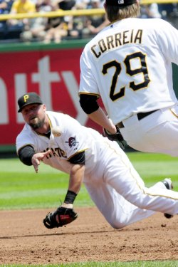 Pirates and Tigers Inter-League Play in Pittsburgh