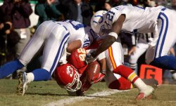 NFL FOOTBALL - KANSAS CITY CHIEFS VS INDIANAPOLIS COLTS