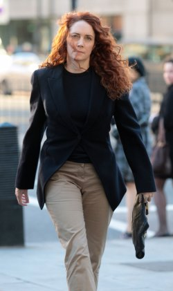 Rebekah Brooks charged with corruption at Westminster Magistrates Court.
