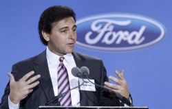 Ford executive Fields speaks during a news conference at Ford Plant in Chicago