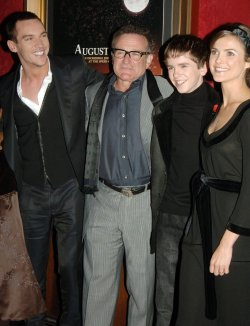 """August Rush"" New York film premiere"