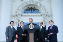 President Bush delivers remarks on Congress in Washington