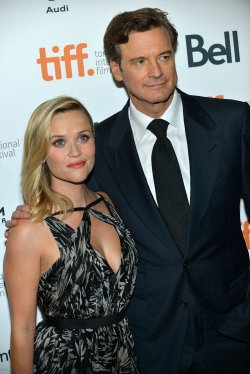 Reese Witherspoon and Colin Firth attend 'The Devil's Knot' premiere at the Toronto International Film Festival