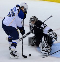 Los Angeles Kings sweep St. Louis Blues in Western Conference Semifinals in Los Angeles