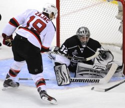 New Jersey Devils vs Los Angeles Kings in Game 3 of the Stanley Cup Finals in Los Angeles