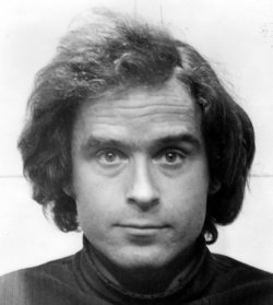 Convicted murderer Ted Bundy is seen here in this 12/26/1975 file photo.