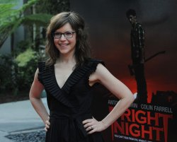 "Lisa Loeb attends the ""Fright Night"" premiere in Los Angeles"
