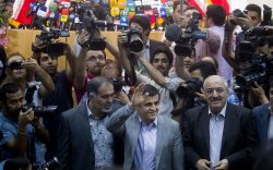 Iran's New President Holds Press Conferance in Tehran