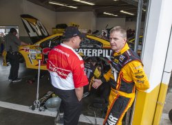 NASCAR Sprint Cup Series practice at Daytona International Speedway
