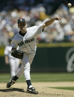 SEATTLE MARINERS JAMIE MOYER