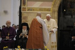 Pope Benedict XVI Leads the 25th Interreligious Talks in St. Francis of Assisi's Birthplace