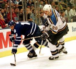 Hockey: St. Louis vs Toronto