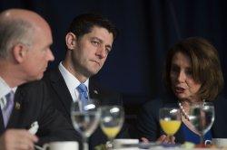 Speaker Paul Ryan delivers remarks at the National Prayer Breakfast