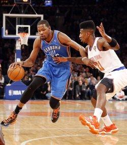 Knicks vs Thunder at Madison Square Garden