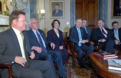 NEW DEMOCRATIC SENATORS MEET ON CAPITOL HILL